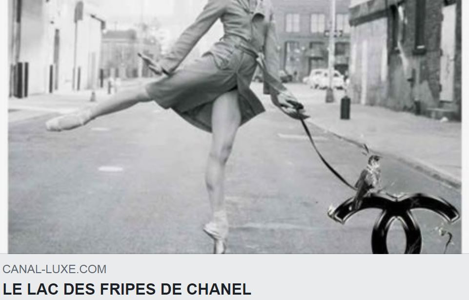 LE LAC DES FRIPES DE CHANEL